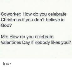 coworker how do you celebrate if you don t believe in