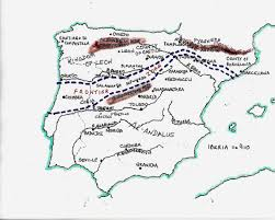 Granada Spain Map by Spanish Castles Spainthenandnow