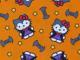 hello kitty halloween fabric hello kitty fabric hello kitty in