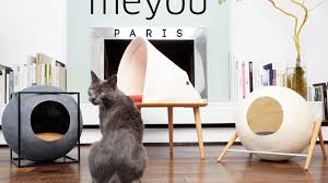 meyou classy furniture for discerning cat by aude u0026 guillaume