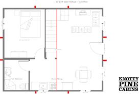 house floor plans for 20x24 20x24 cabin floor plans cabins floor