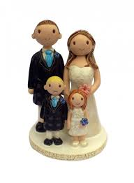 family cake toppers wedding cake toppers uk family kudoki for