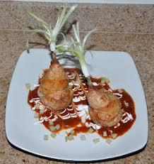 chef jd u0027s classic cuisine cornish game hen á chorizo bulgar wheat