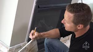 installing fireplace stone ledgestone by realstone system youtube