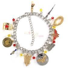 woman charm bracelet images Bijoux de lou wonder woman charm bracelet jpg