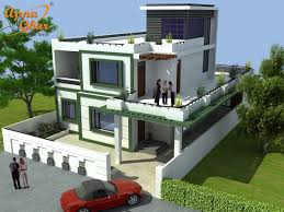 beautiful duplex house design in 264m2 12m x 22m click here
