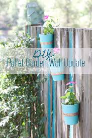 updating our diy pallet garden wall southern revivals