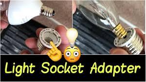 small light bulb socket adapter light socket adapter go from small led bulb e12 base to large