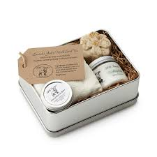 wedding gift experiences farm fresh spa experience tin hygiene kit all