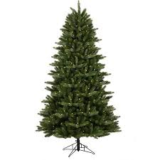 ge pre lit 7 5 douglas fir artificial tree dual color