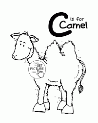 printable zoo animal coloring pages letter c alphabet coloring pages for kids letter c words