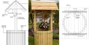 garden wishing well plans free plans diy free download wooden