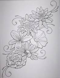 Leg Flower - flower designs free clip free clip