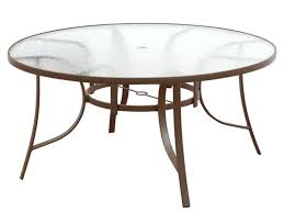 Outdoor Accent Table Dining Table Round Glass Dining Table Replacement For Patio