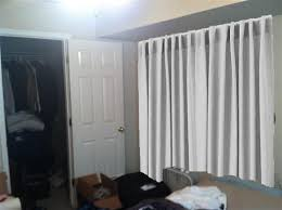Covering A Wall With Curtains Ideas Curtains For Wall Covering 5 Renter Friendly Temporary Wall
