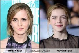 emma watson looks like emma watson totally looks like kiernan shipka totally looks like