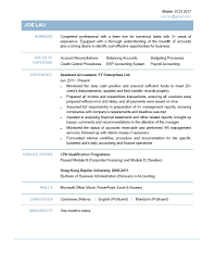 accounting resume template saneme