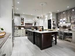 kitchen central island white kitchen tile floor espresso wood floors tiles floors