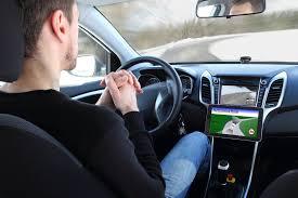 first driverless car crash study autonomous vehicles crash more