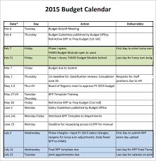 budget calendar template u2013 6 free samples examples format