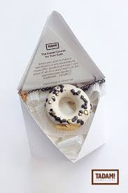 personalized donut boxes mini donut with chocolate and golden bits modern handmade
