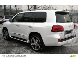 2015 lexus lx 570 white 2009 lexus lx 570 information and photos momentcar