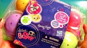 littlest pet shop easter eggs disney easter eggs toys for kids stitch tr woody