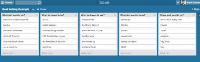 create a goal setting template with trello keith gutierrez
