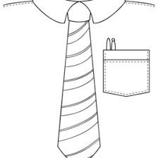best photos of shirt and tie coloring page father u0027s day tie