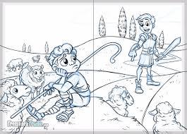 david and goliath children u0027s book illustrations freelance fridge