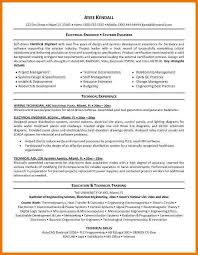 systems engineering resume certified electrical engineer sample resume resume electrical om