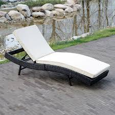 Wicker Patio Lounge Chairs Lounge Chair Outdoor Chaise Wicker Patio Furniture