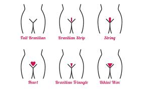 heavy pubic hair flossie com brazilian or bikini waxing