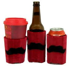 huggie drinks beverage insulator reds staches pocket huggie cold hot drinks