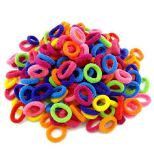 hair rubber bands colorful child hair holders elastic bands 200 pcs baby king stores