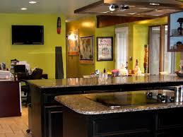 sage green kitchen with cherry cabinets kitchen decoration