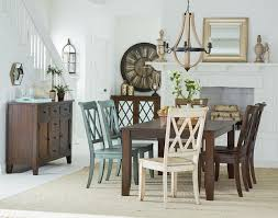 standard furniture vintage dining table with tapered feet