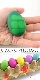 thermochromic color change easter eggs dream a little bigger
