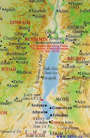 the dead sea area of genesis chapter 14 bible land maps from all