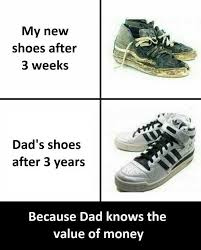 Sneakers Meme - dopl3r com memes my new shoes after 3 weeks dads shoes after 3