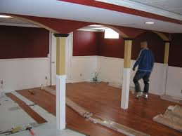 Laminate For Basement by Laminate Flooring Install Basement