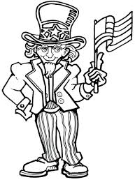 uncle president coloring pages independence day presidents mexican