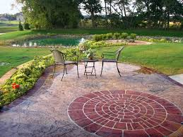 Stamped Concrete Patio Maintenance Benefits Of A Concrete Patio The Concrete Network