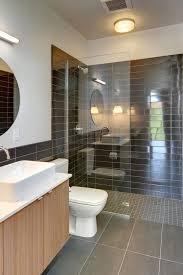 Bathroom Neutral Colors - lovely walk in shower bathroom mediterranean with neutral colors