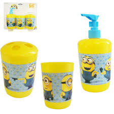 Geek Bathroom Accessories by Despicable Me Bathroom Set Despicable Me Bathroom Accessories Tsc