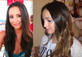 coloring over ombre hair diy ombre hair in 4 easy steps