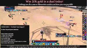 Tera Giveaway Win 20k Gold In A Duel Youtube