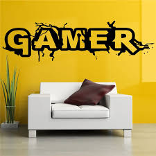 Gamer Home Decor Wall Sticker Picture More Detailed Picture About Wall Room Decor