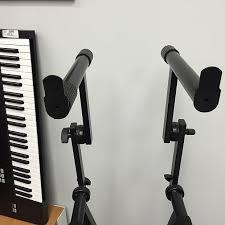Proline Keyboard Bench Proline Pl402 2 Tier Double X Braced Keyboard Stand Black Reverb