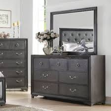 Bedroom Dresser With Mirror dresser mirrors you u0027ll love wayfair